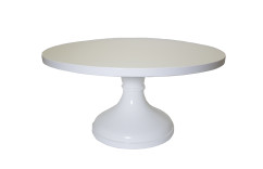 "18"" Wedding White Cake Stand"