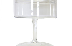 Medium Glass Pedestal with Lid